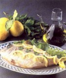Branzino Traditional Food in Calabria South Italy